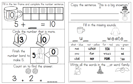 http://www.teacherspayteachers.com/Product/January-Morning-Work-Common-Core-Alligned-467211