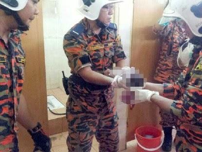 Mayat bayi baru lahir ditemui dalam mangkuk tandas Universiti Putra Malaysia UPM