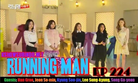 Running Man Episode 224 Subtitle Indonesia