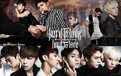 BEAST - Hard to love,How to love Wallpapers