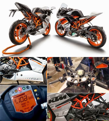 test ride KTM RC390