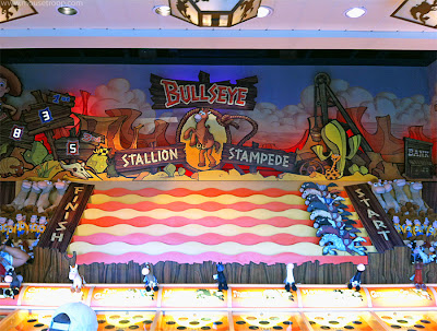 Bullseye Disney California Adventure Midway Game DCA Pier