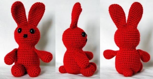 Amigurumi Joined Rounds : Apuugas Amigurumi: Bunny JaNKS