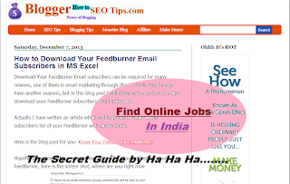 Guide for finding online geuine jobs in India with step by step for beginners