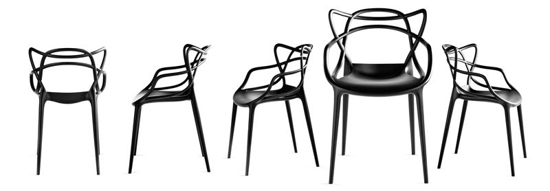 Master Chair by Kartell - Philippe Starck