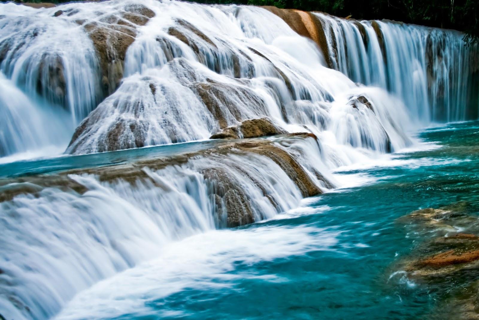 Avante viajes culiacan chiapas magnifico escenario de la for Motor para cascada de agua