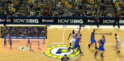 NBA 2K13 Indiana Pacers Court Playoffs Update