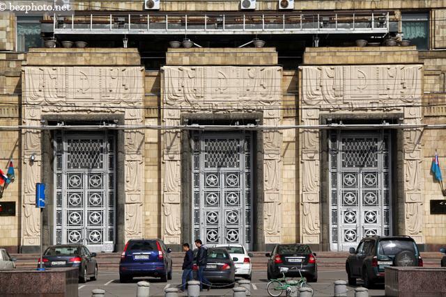 фото здания мид россии