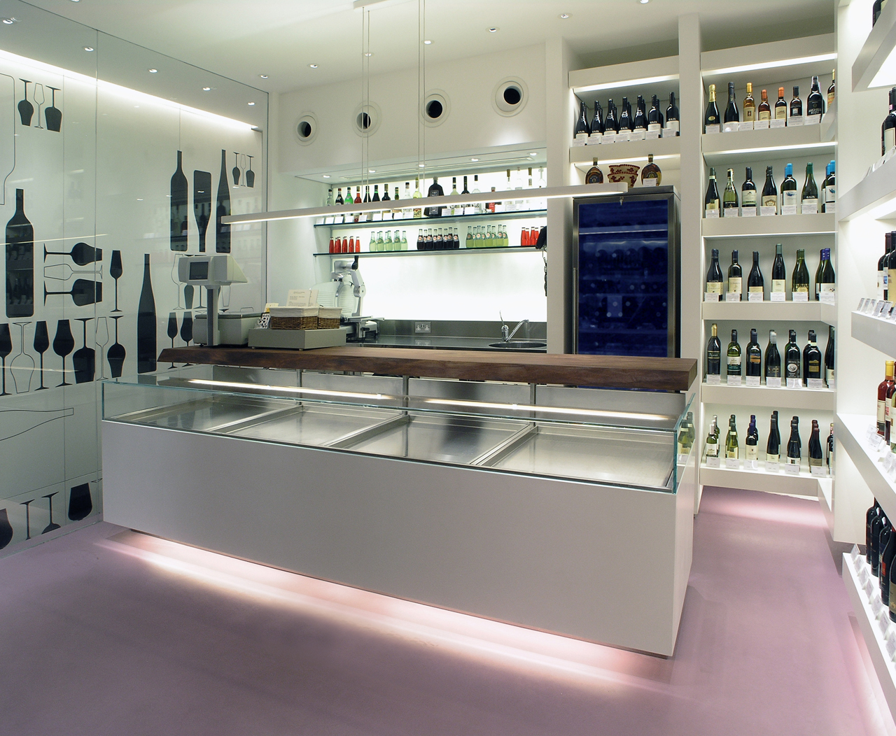 Imagine these retail interior design olivino delicatessen shop london pierluigi piu Interior design stores london