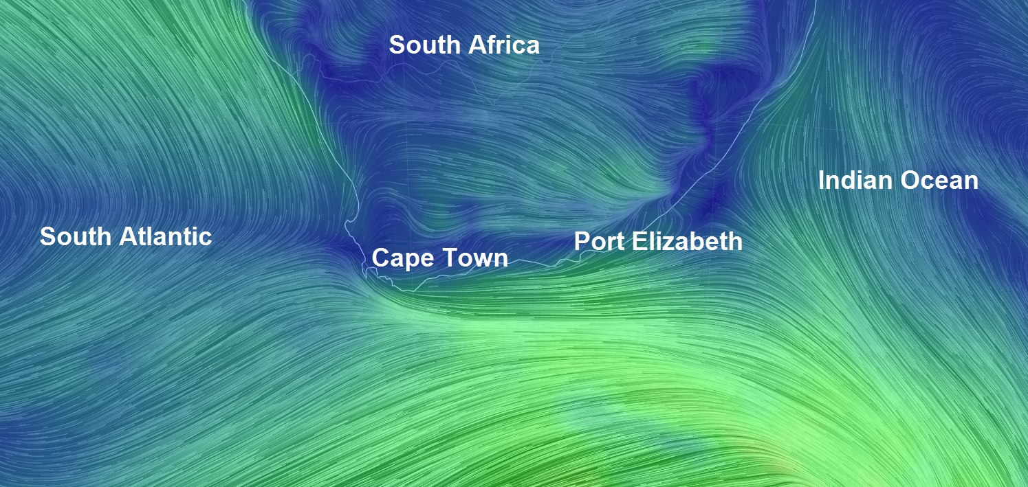 South African Weather Service warns of dangerous seas, gale force winds, extreme cold, snow and...