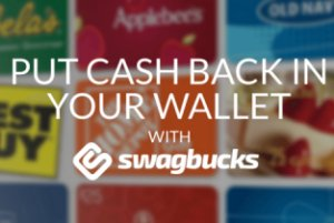 Earn free gift cards when you shop online at Swagbucks, it really works!