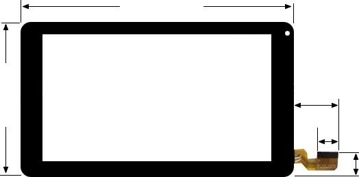 ecran tactile pour tablette polaroid storex mpman logicom lenco etc tactile takara. Black Bedroom Furniture Sets. Home Design Ideas