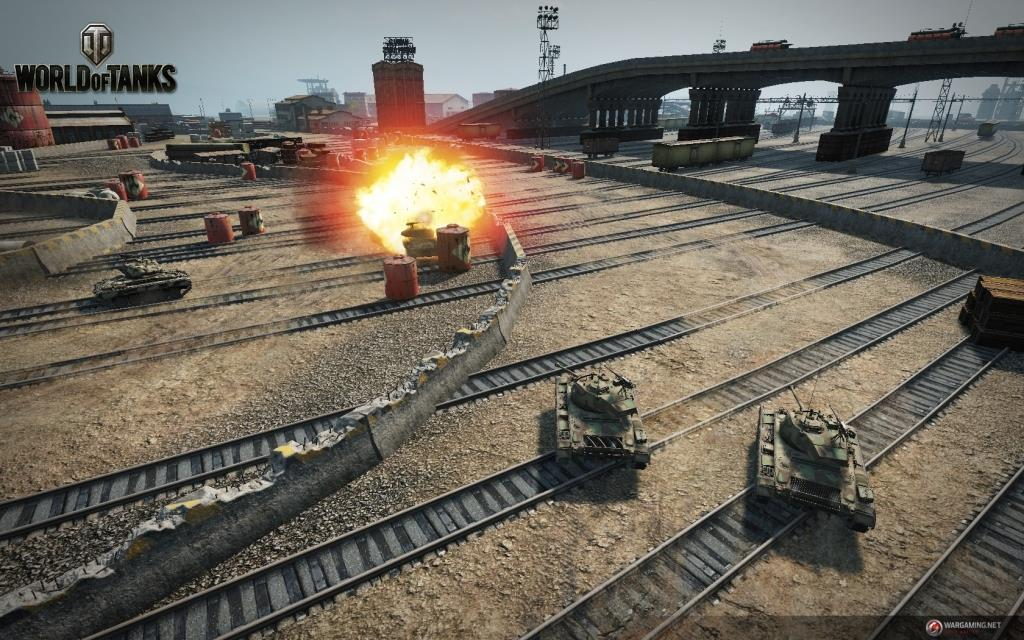World of Tanks гоночный режим