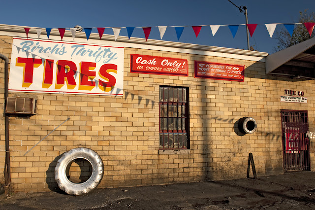 Tires, Signs, Americana, Cincinnati