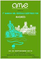 1ª Marcha del Vehículo eléctrico por Madrid