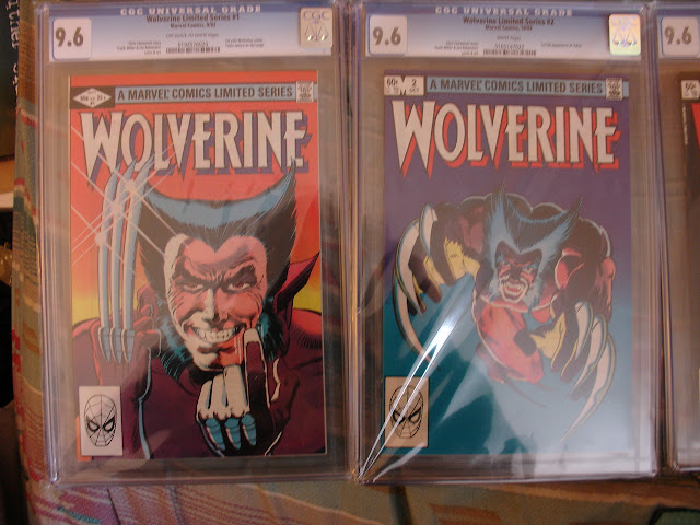 My Wolverine limited series 1 and 2 CGC 9.6 graded comics