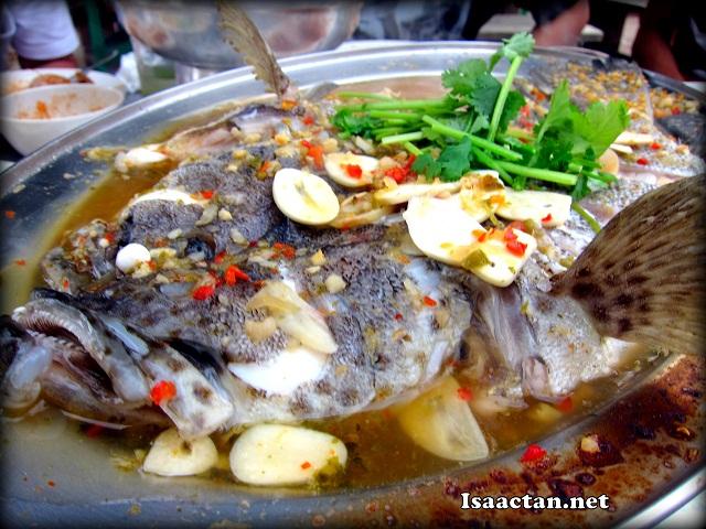 Lemon Steamed Kerapu Fish - RM95