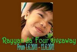 Rayyan Da Four Giveaway