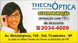Thecnóptica. Óculos a preços imperdíveis.