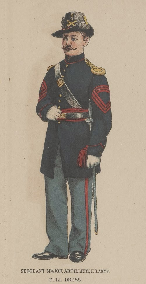 Union Sergeant Major of Artillery picture 2