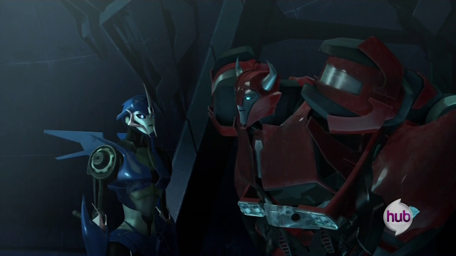 If How to Train Your Dragon introduced us to Scottish Vikings, then Transformers Prime is all about black Vikings like Cliffjumper.