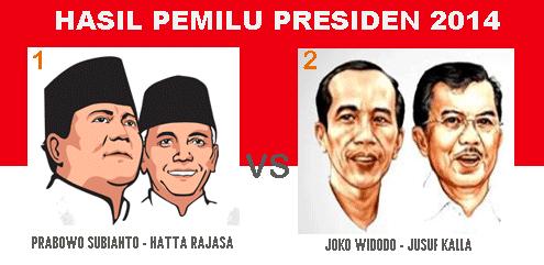 Pemenang Pemilu Presiden 9 Juli 2014