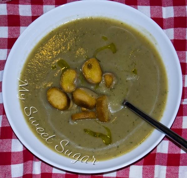 crema di porcini e zucchine con secuquick amc