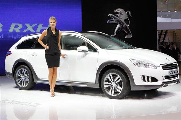 2013 Peugeot 508 RXH