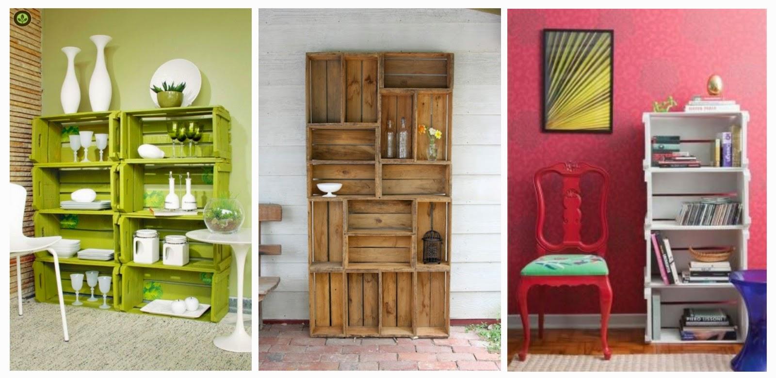 tutorial de artesan as 10 ideas de muebles neor sticos On como hacer una estanteria con cajones de verduras
