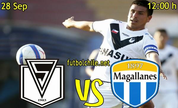 Santiago Morning vs Magallanes - Apertura Primera B - 12:00 h - 28/09/2014