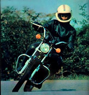 Motovi 125 – 1978. Montada na Zona Franca de Manaus  com peças importadas da Harley-Davidson italiana.  Foto: Claudio Laranjeira