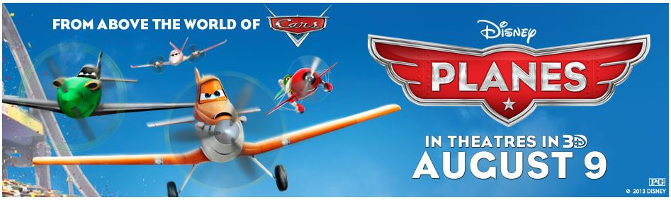 From Above the World of Cars Disney Planes!