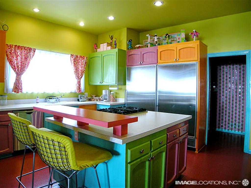 : cozinhas coloridas decoração de cozinhas estilos de cozinhas #7F8215 1024 768