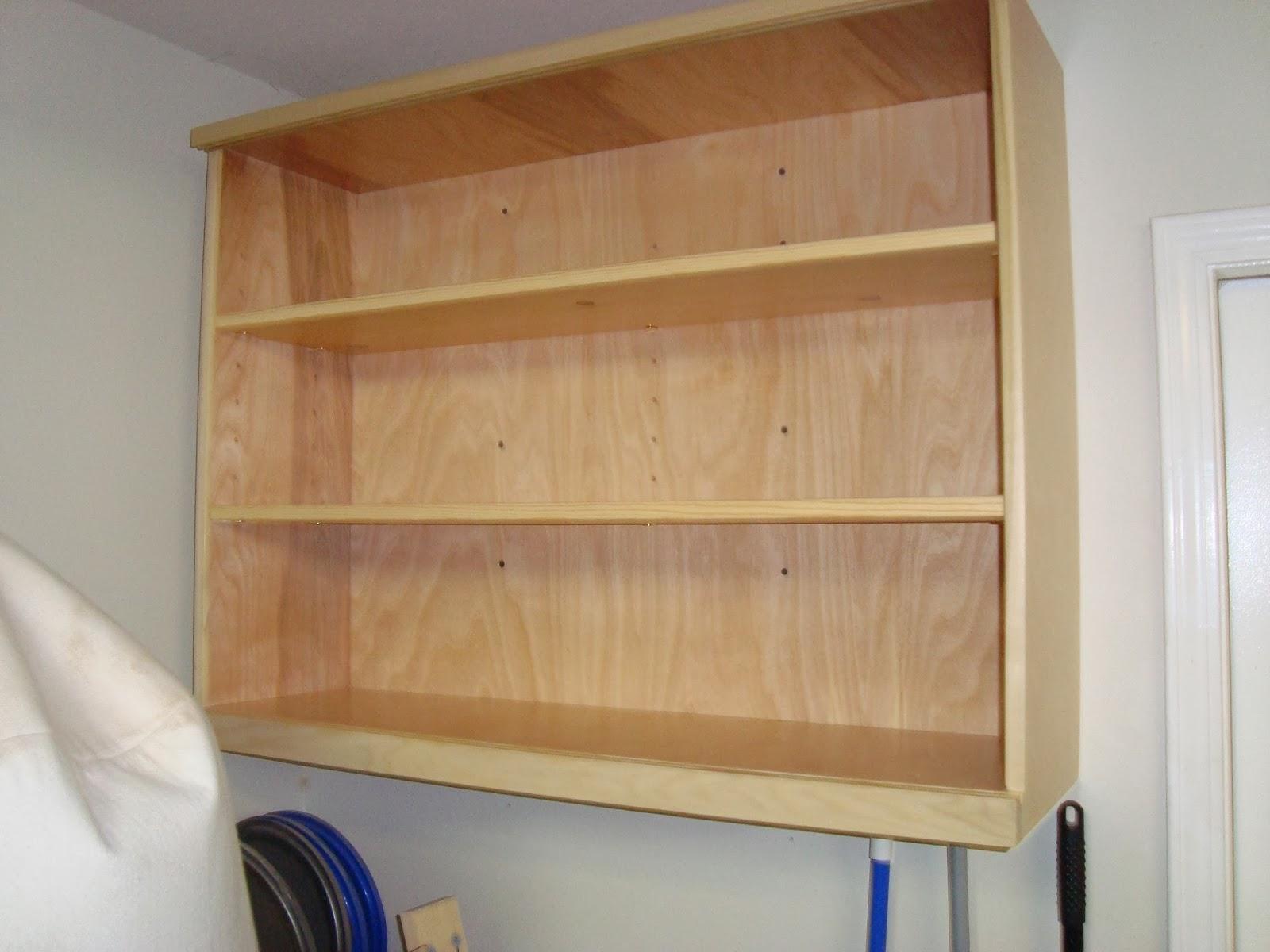 Sliding door shop cabinet