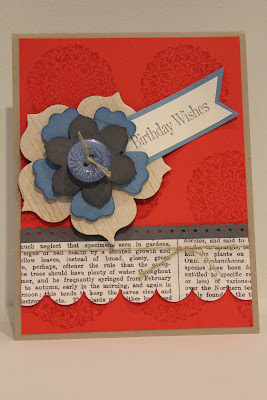 Artistic Etchings, Balsa Wood, Big Shot, Stampin' Up