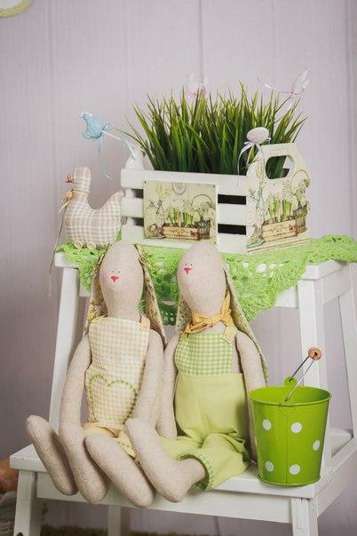 пасхальный заяц, зайчата, влюбленные зайцы, зайцы пара