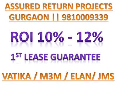 assured return projects in gurgaon