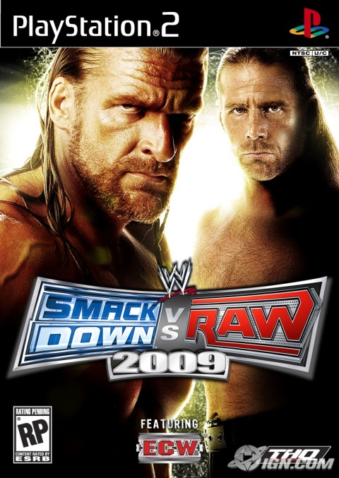 Download WWE SMACKDOWN VS RAW 2009 Game Ps2