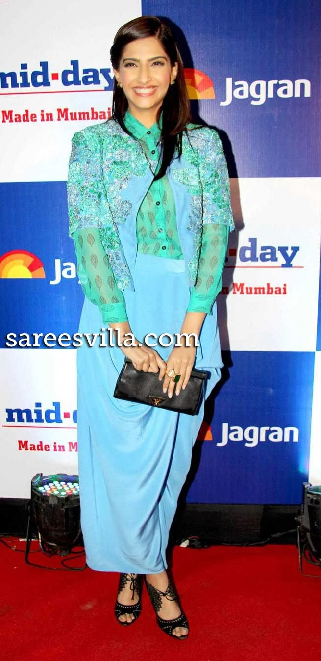 Sonam Kapoor at Mid Day Newspaper's Relaunch Party