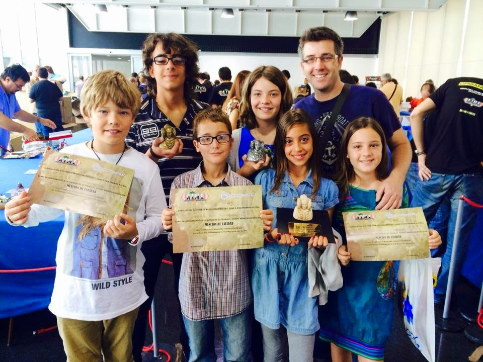 Ganadores de la categoría Junior en AIME ELCHE 2014