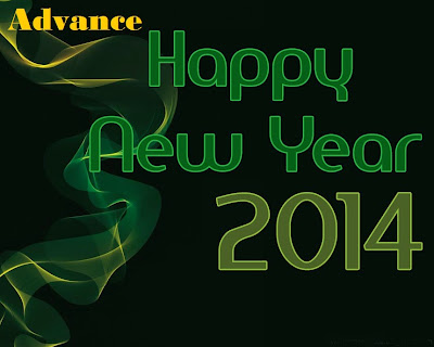 Happy New Year 2014 Greeting Photo Cards 1