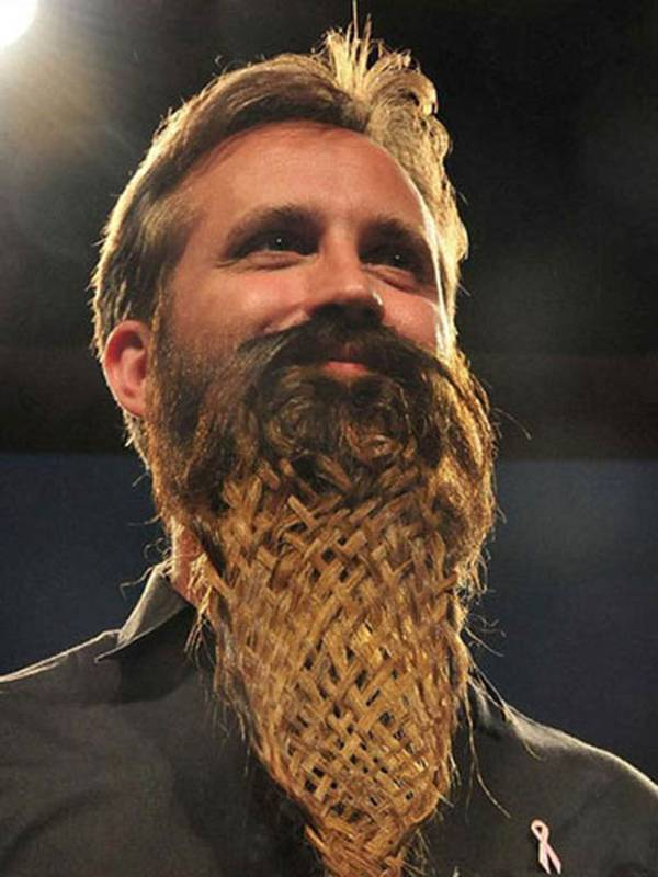 Beard Weaving.