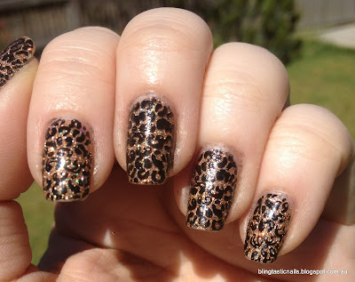 China Glaze I Herd That Leopard Print