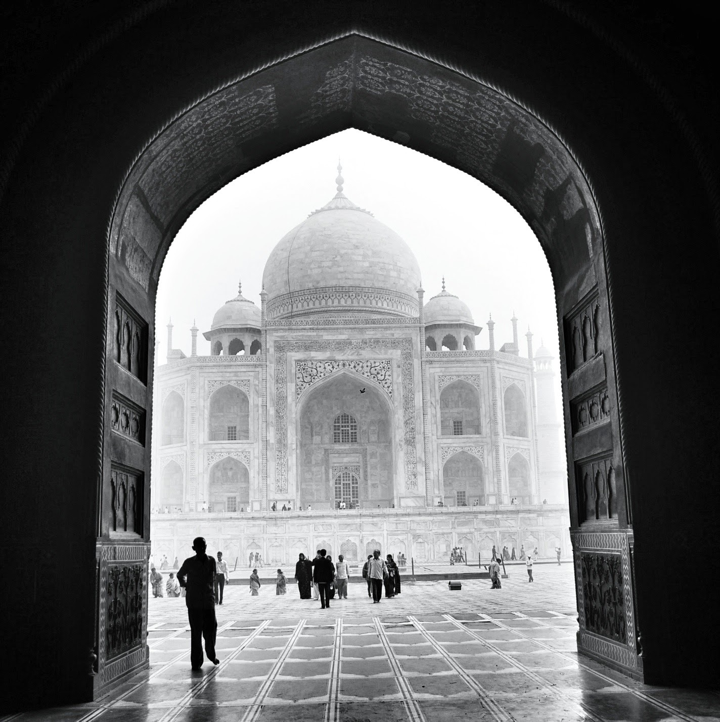 snapseed editing tips black and white photography india taj mahal