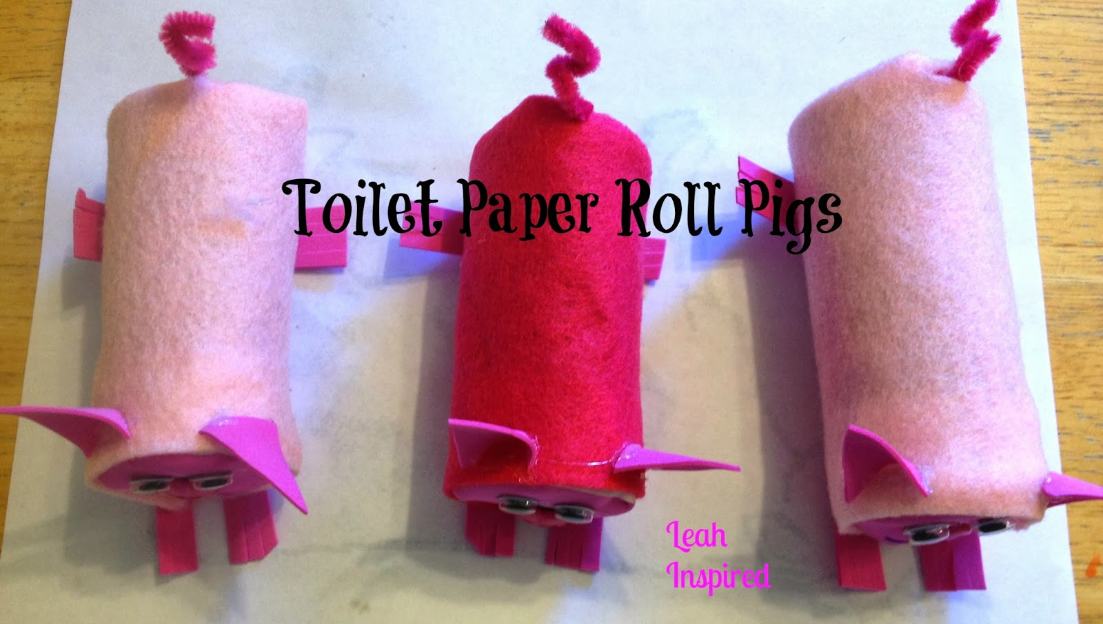 Creations by leah inspired toilet paper roll pig toilet paper roll pig jeuxipadfo Image collections