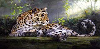 Hiperrealismo Tigre Pintura Animales