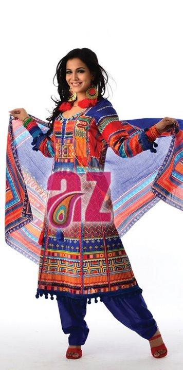 Mahiymaan Eid Collection 2012 By Al Zohaib Textile