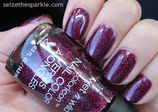 Cranberry Holographic Polish
