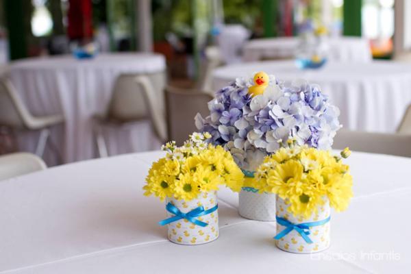 decoracao festa infantil azul e amarelo : decoracao festa infantil azul e amarelo: Festa Infantil: Festa do Patinho de Borracha para Meninos e Meninas