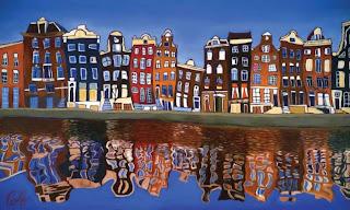 Amsterdam,paint